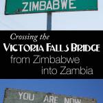 Crossing Zimbabwe into Zambia