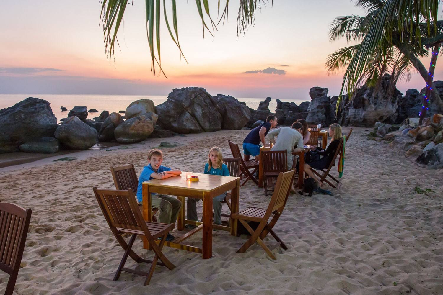 Dinner on Phu Quoc Beach