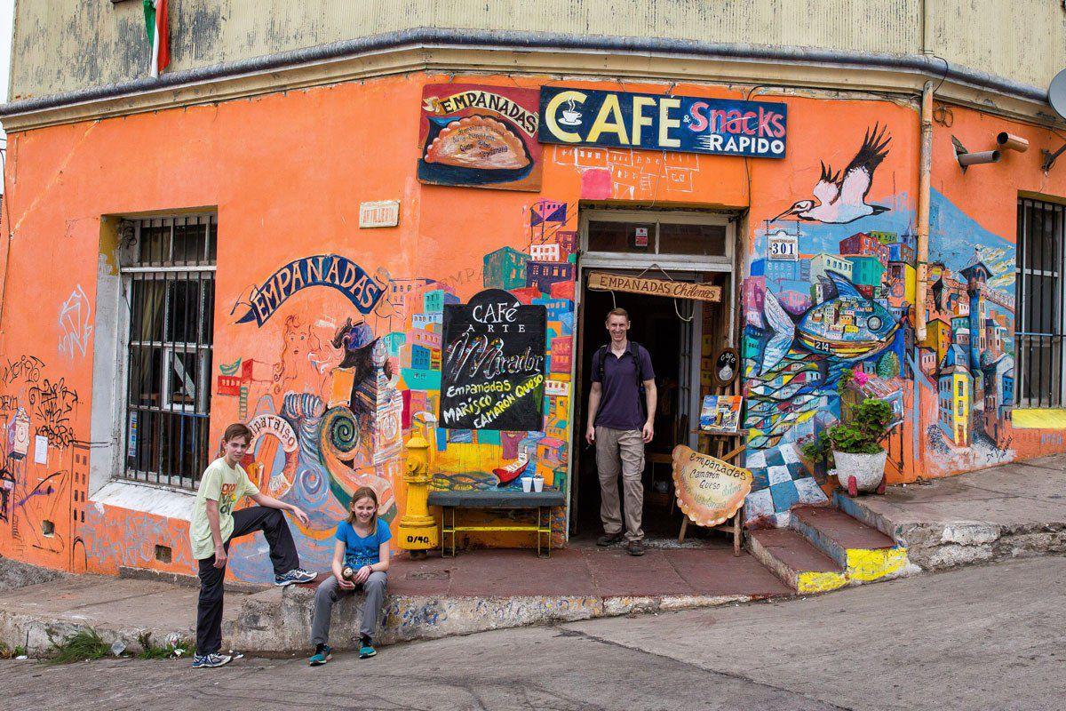 Empanadas Cafe Valparaiso