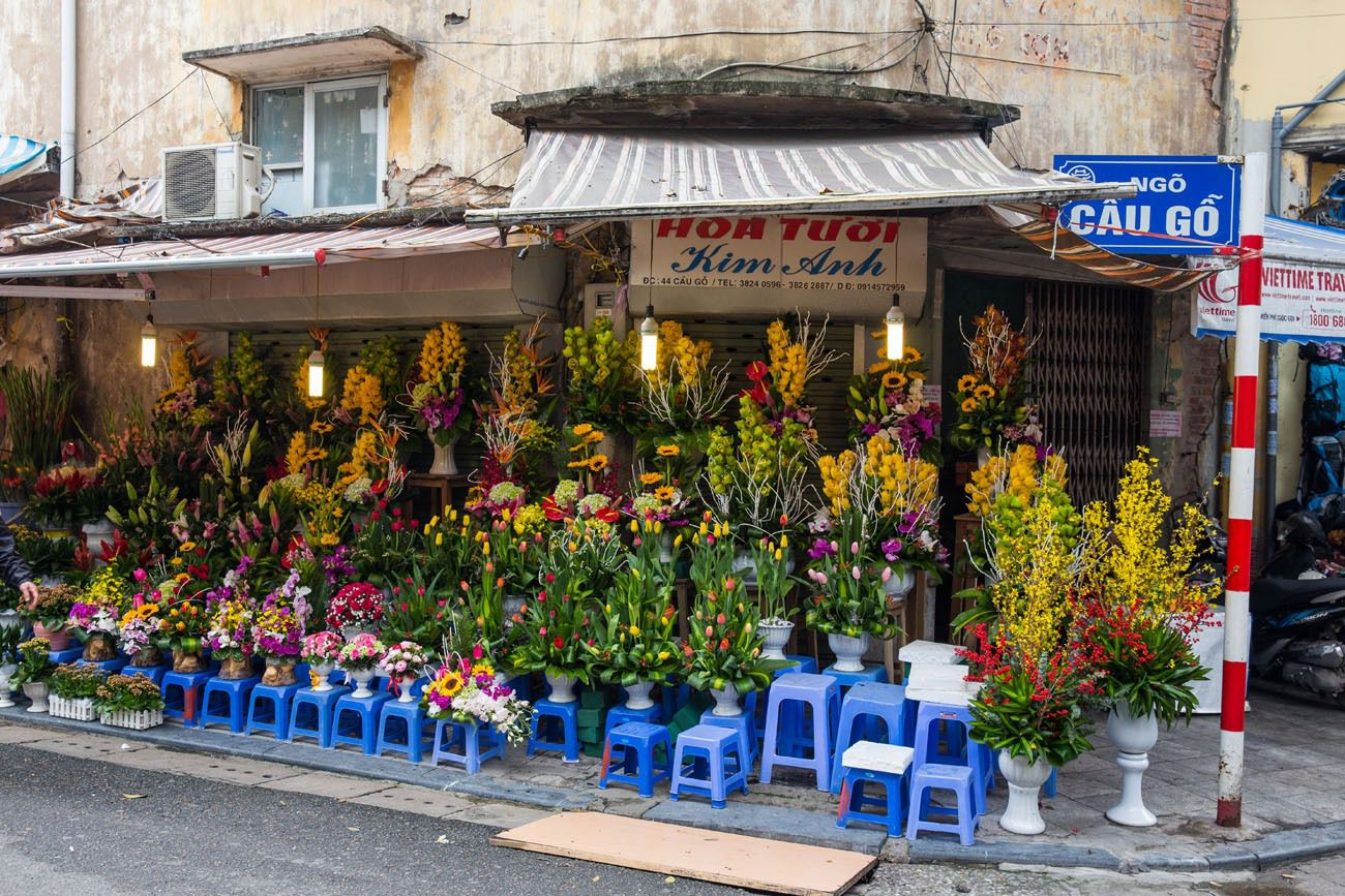 Flowers for Sale Hanoi