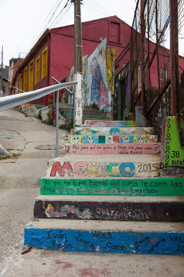 Graffiti on the Stairs
