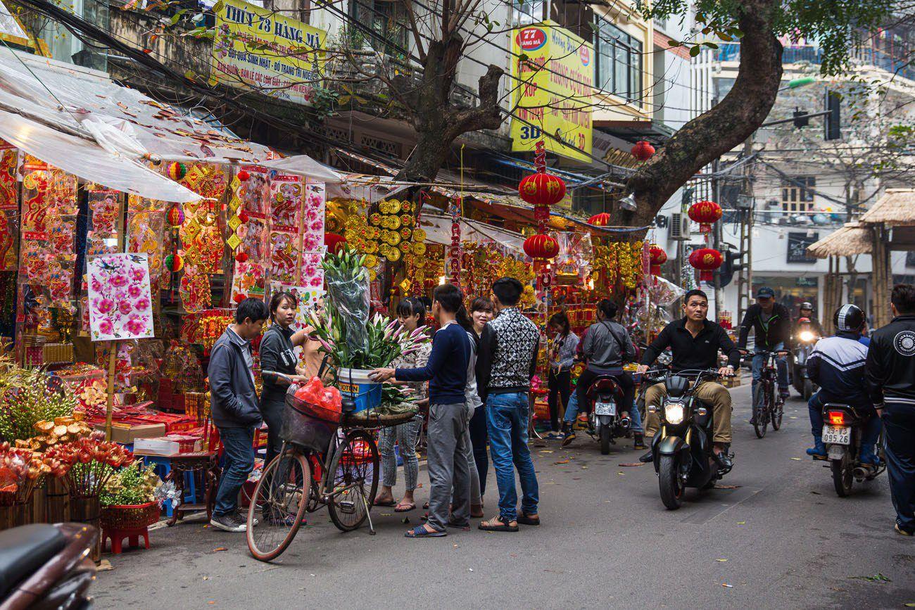 Hanoi at Tet