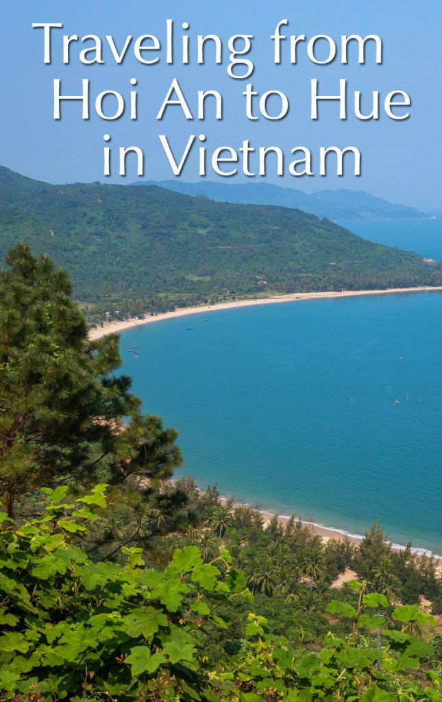 Hoi An to Hue in Vietnam