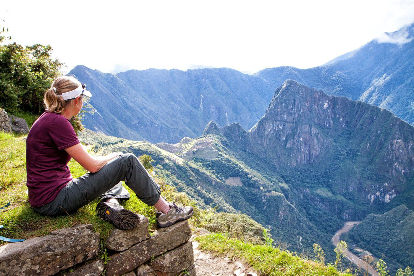 Julie Rivenbark at Machu Picchu