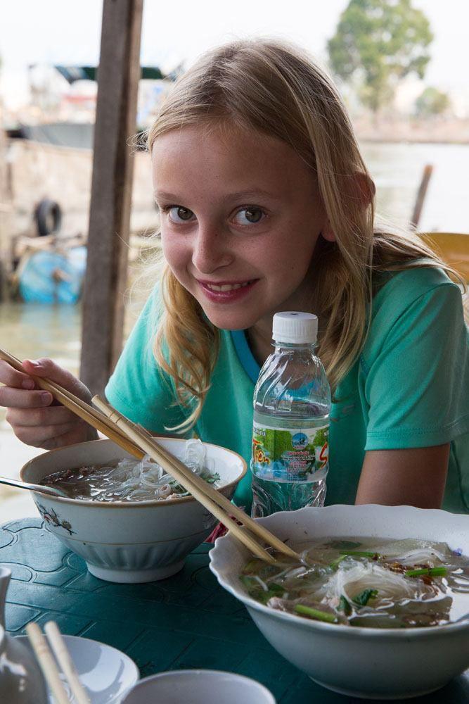 Kara and her Noodles