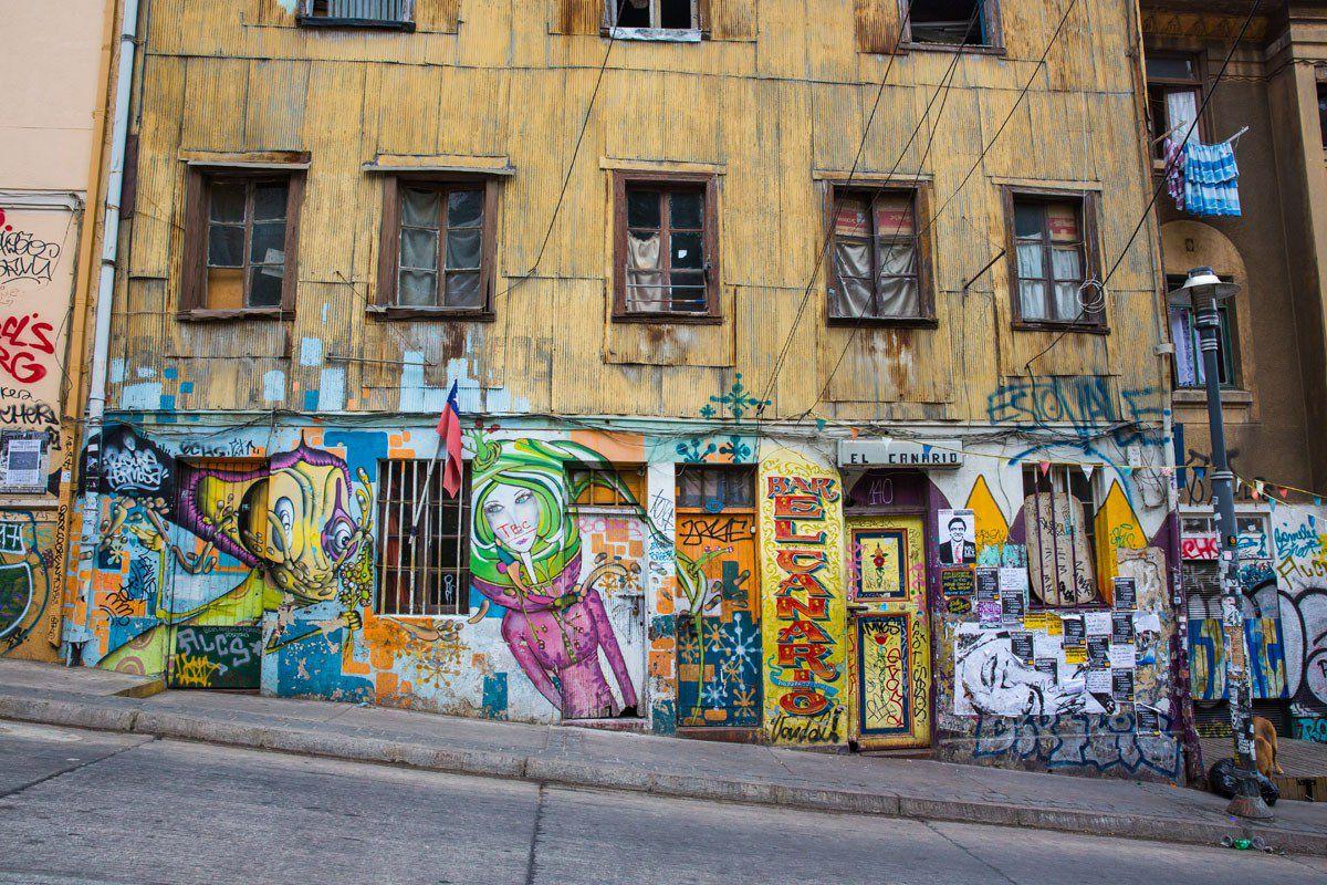 More Graffiti Valpo