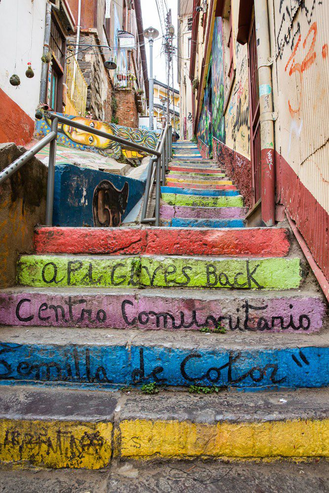 More colorful Steps