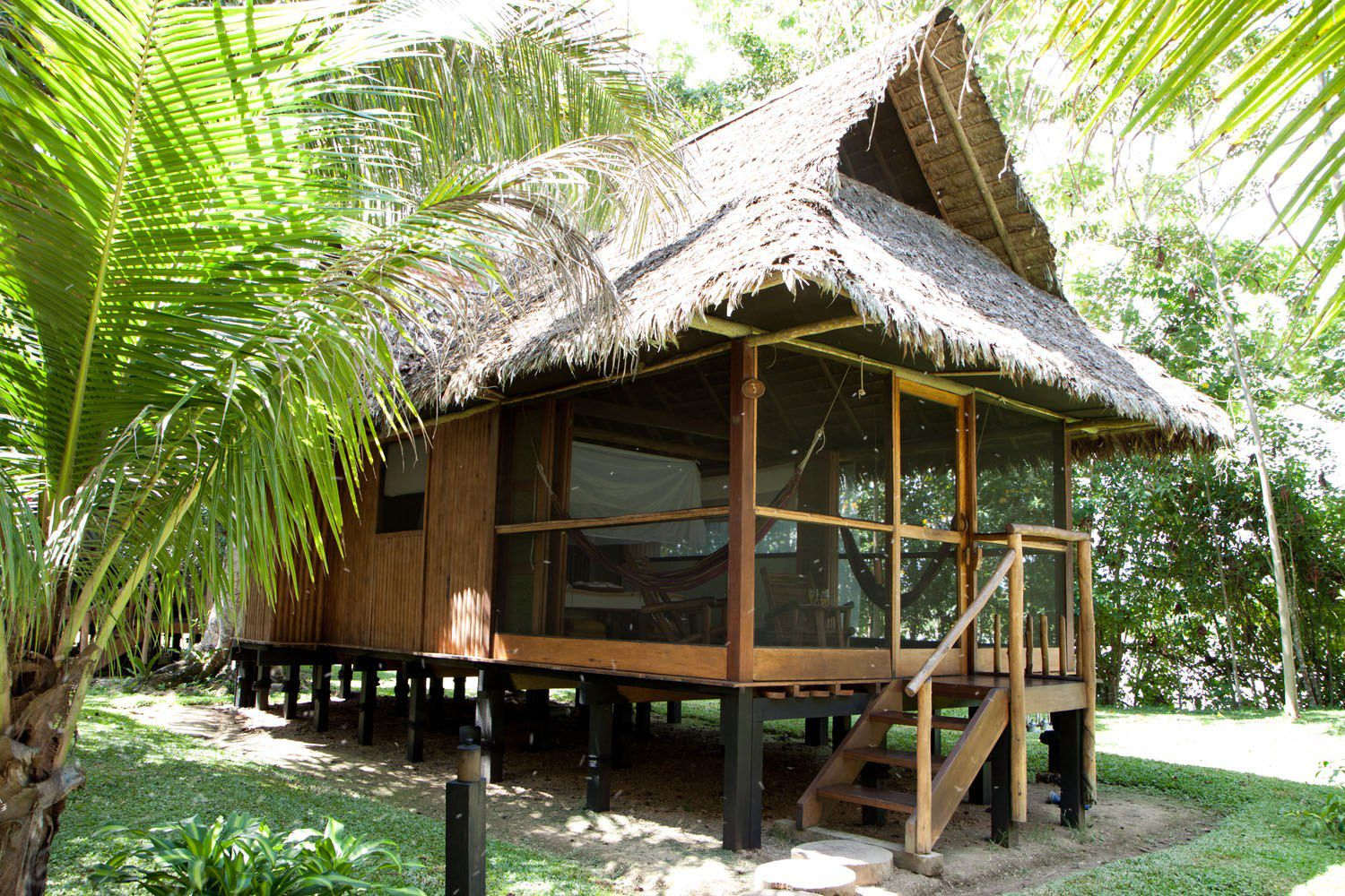 Our Cabana at the Inkaterra
