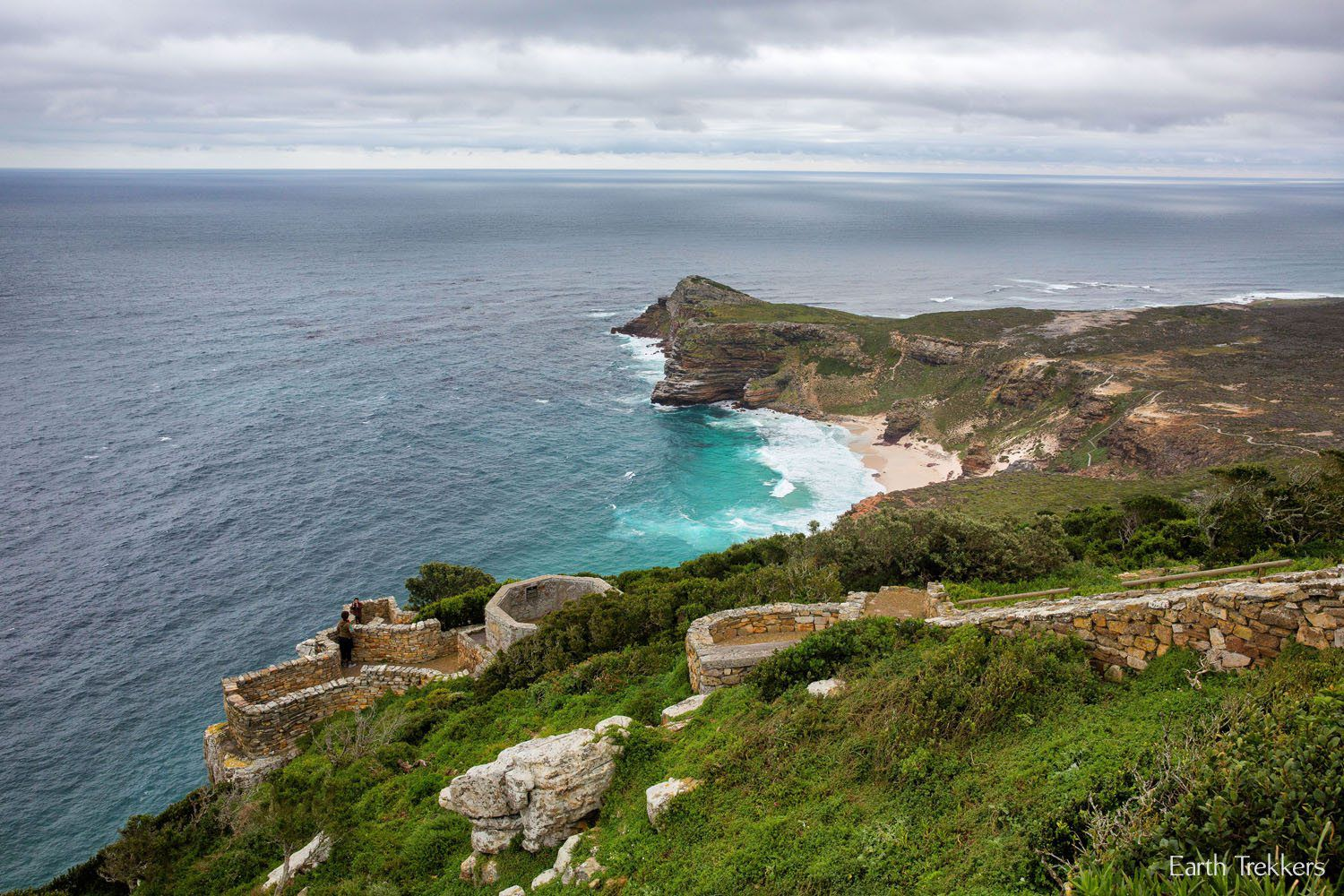 Overlooking Cape of Good Hope