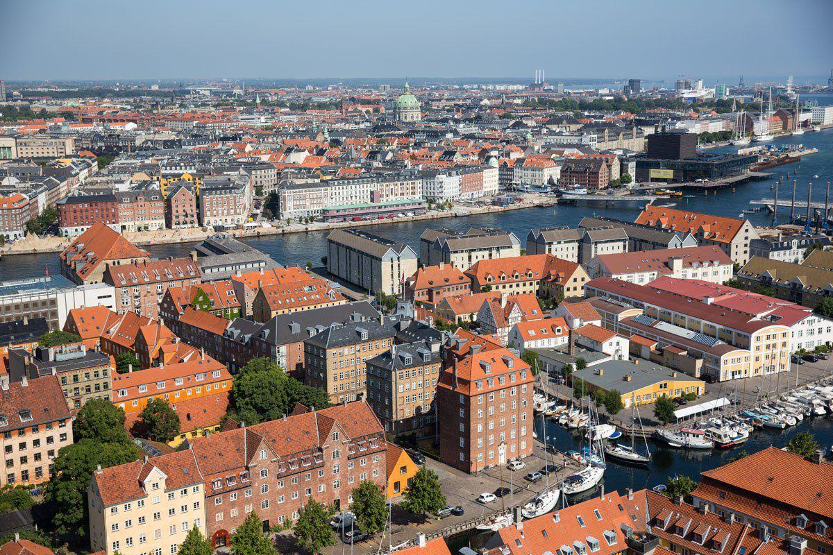Overlooking Copenhagen