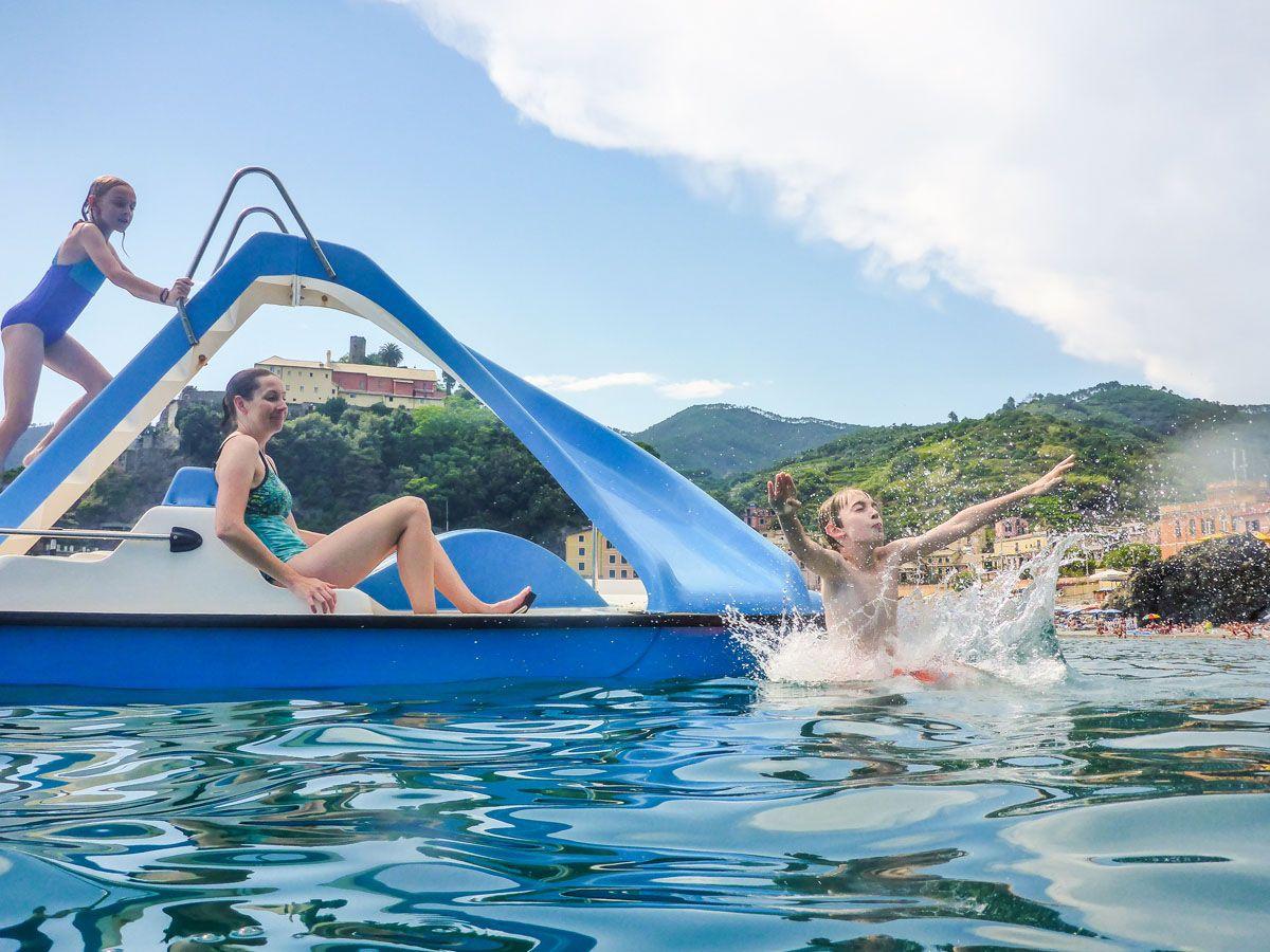 Paddle Boat Slide