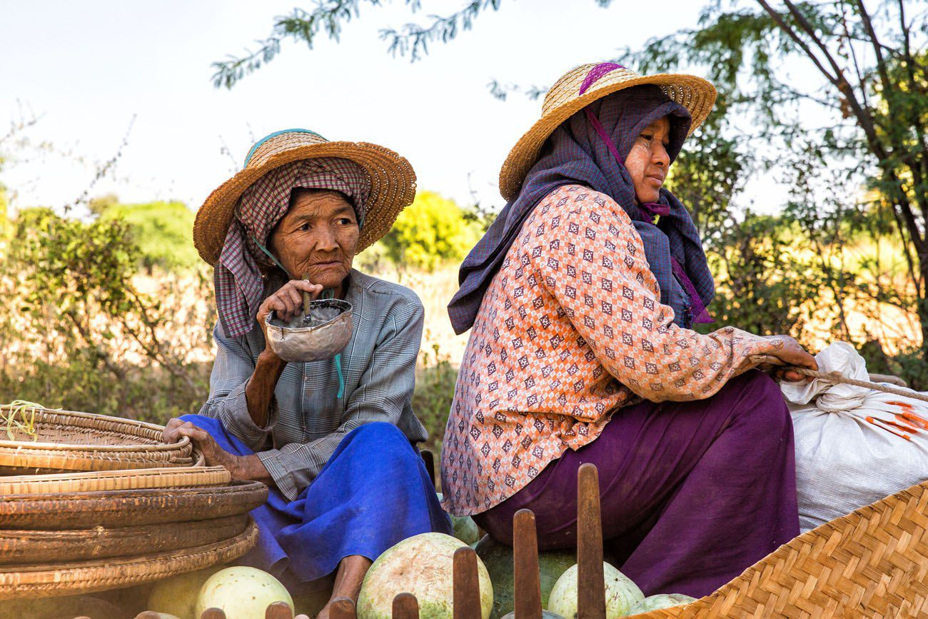 People of Bagan