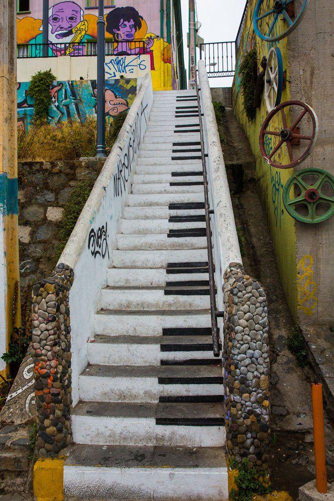 Piano Steps Valparaiso