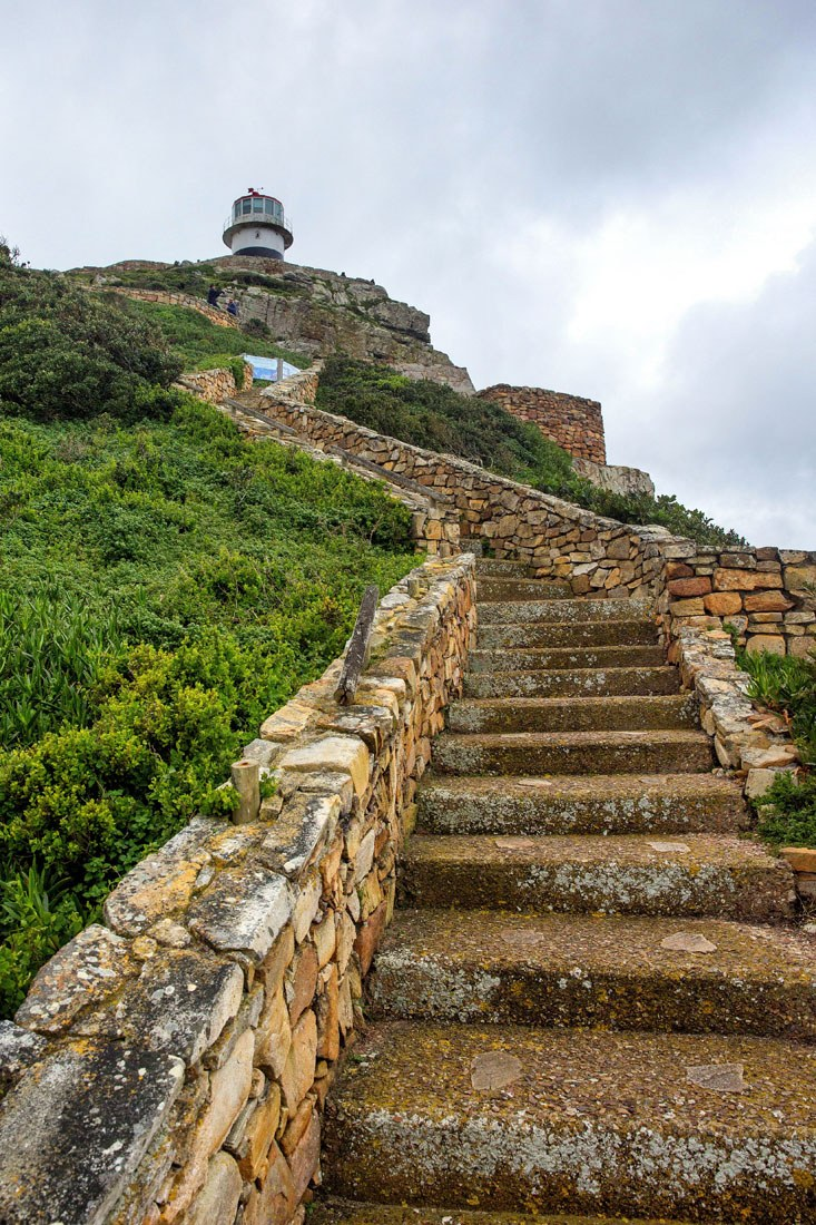 Steps to the Lighthouse