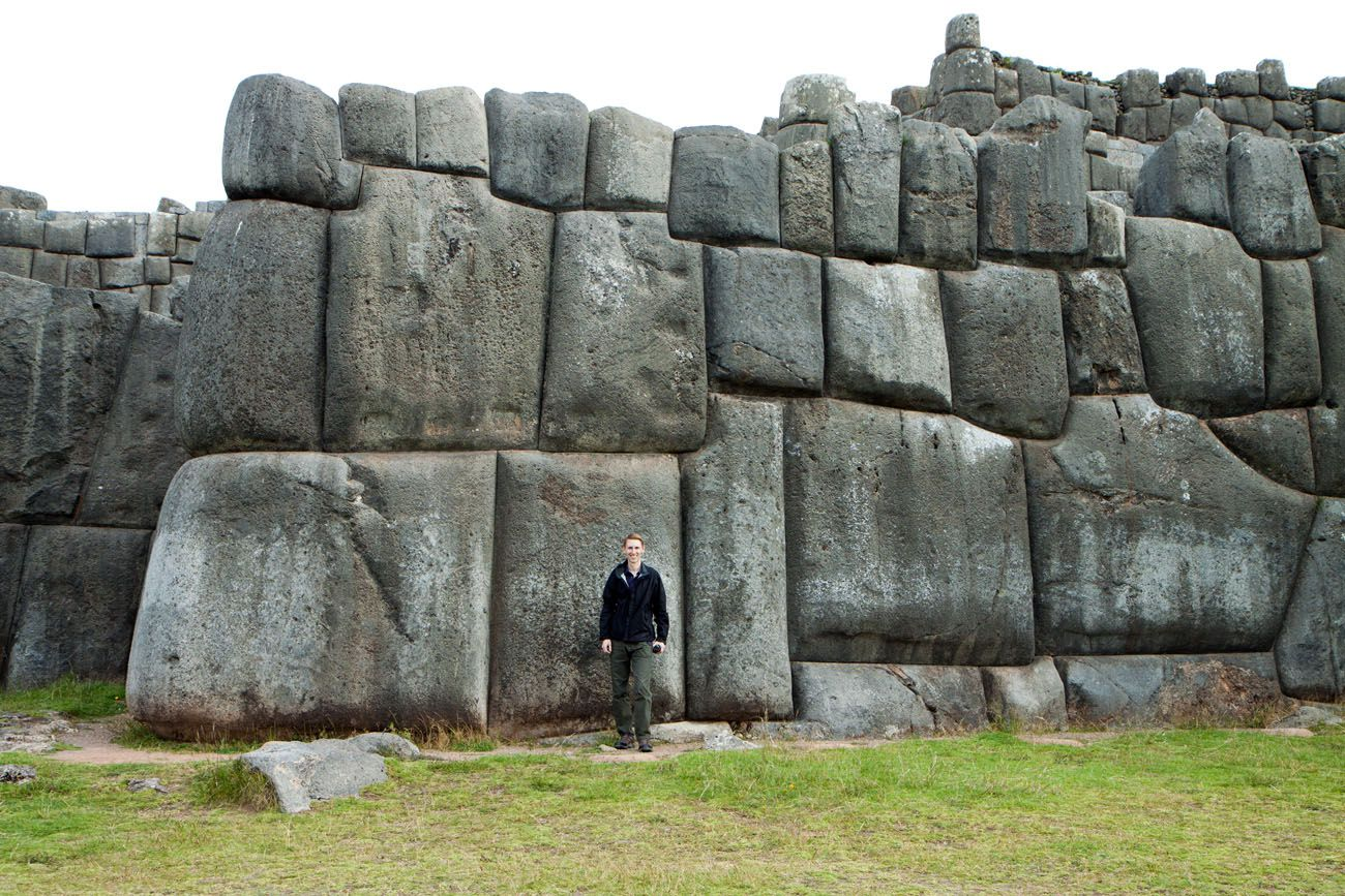 Tim at Sacsaywaman
