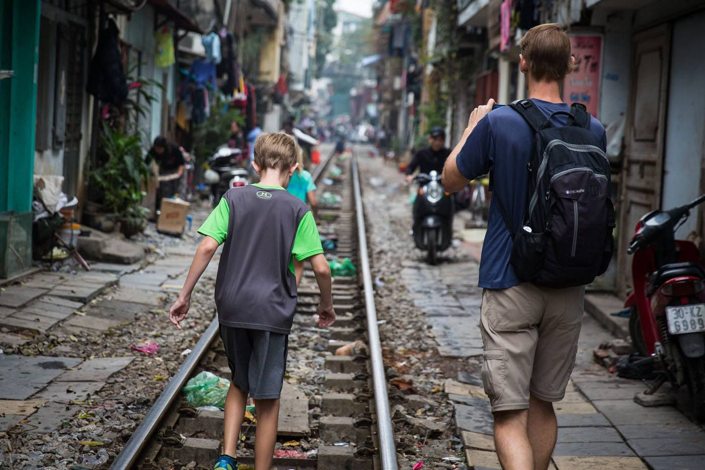 Train Tracks Hanoi