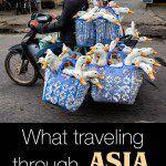Traveling through Asia