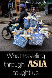 Traveling through Asia