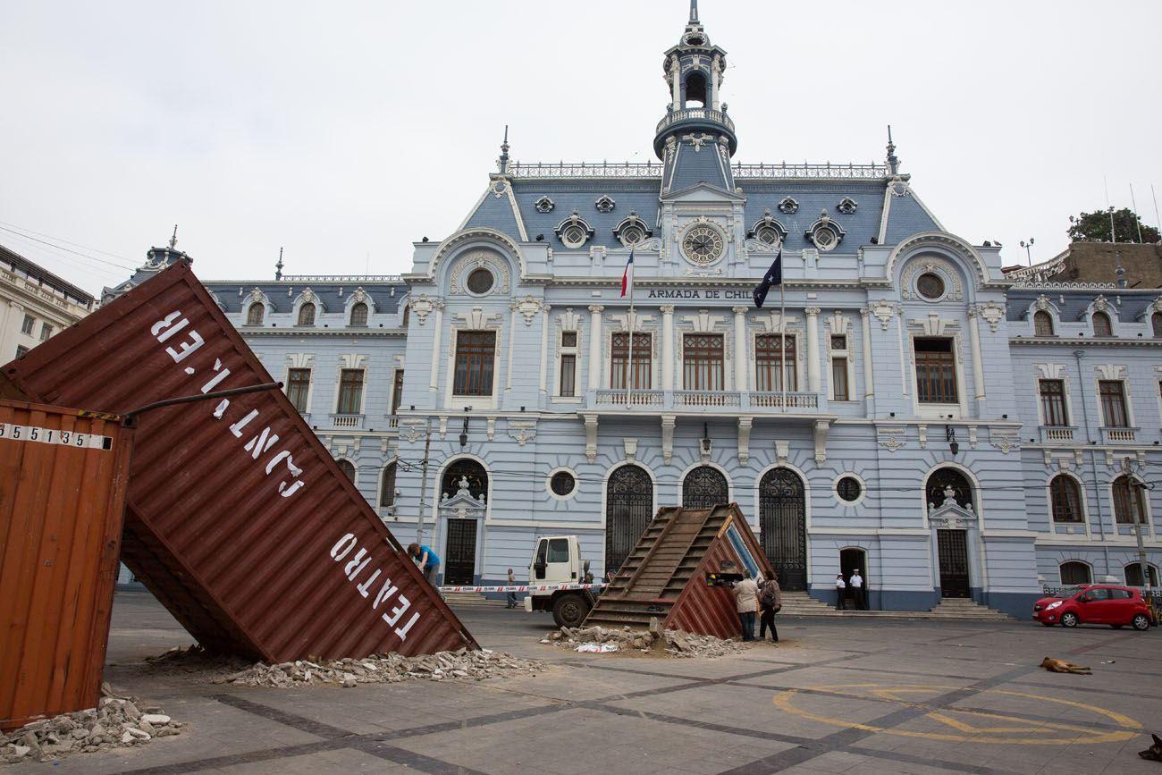 Valparaiso Main Square
