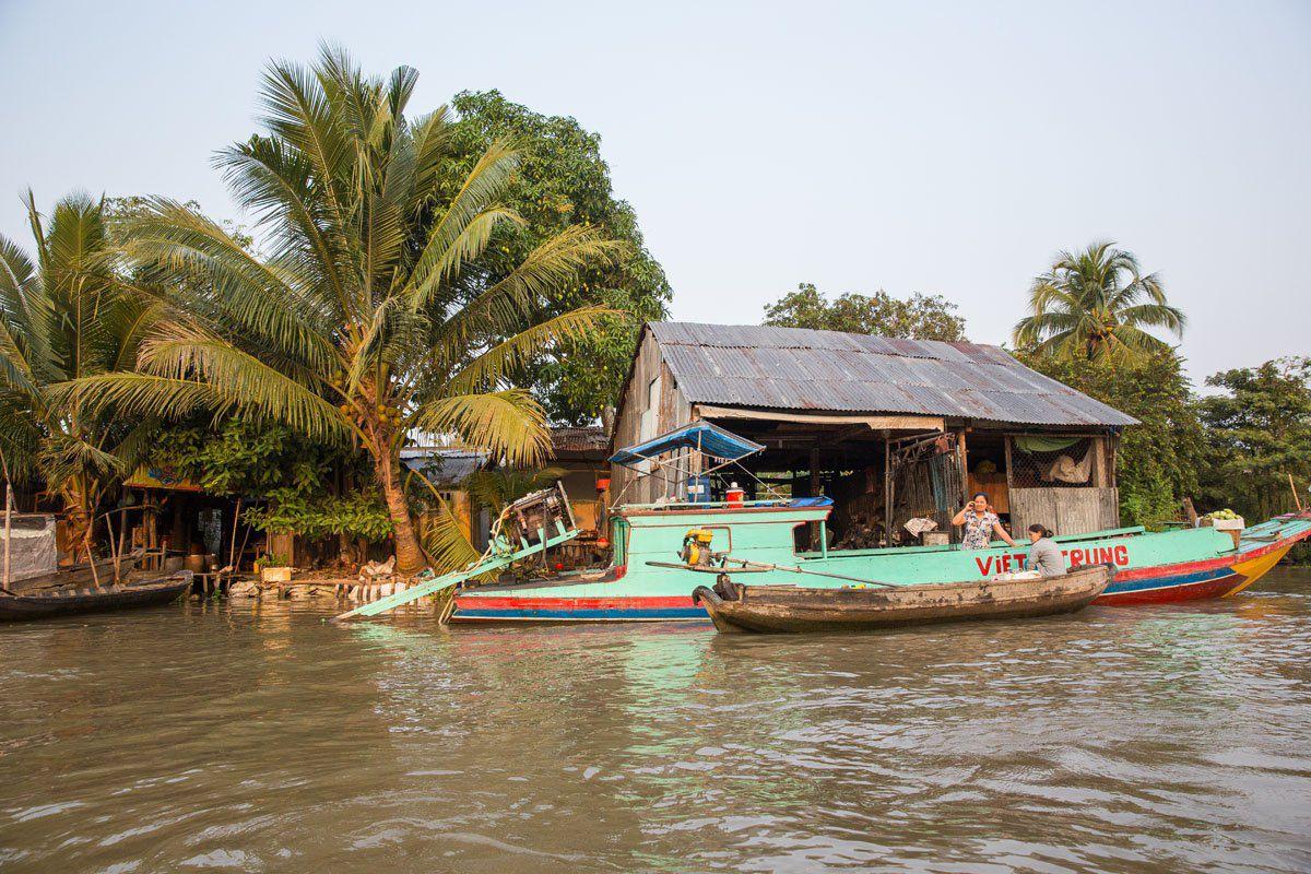 Vietnam Mekong River Delta