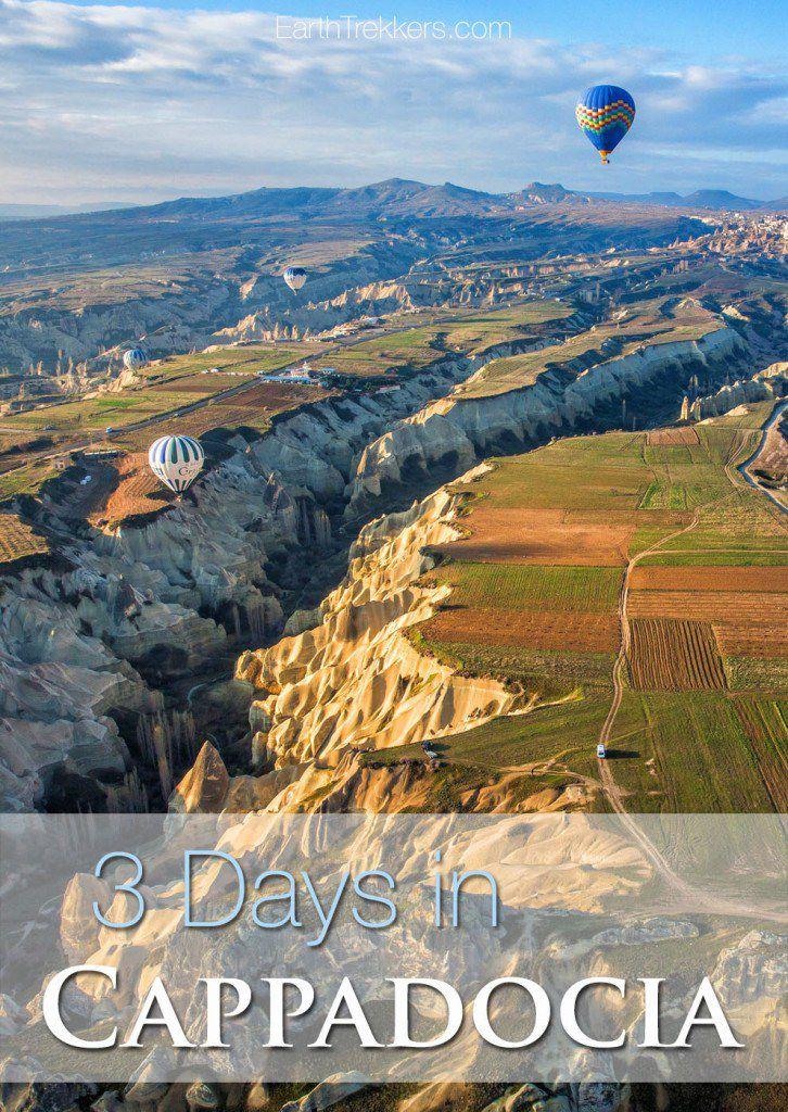 3 Days in Cappadocia Turkey Best Things to do