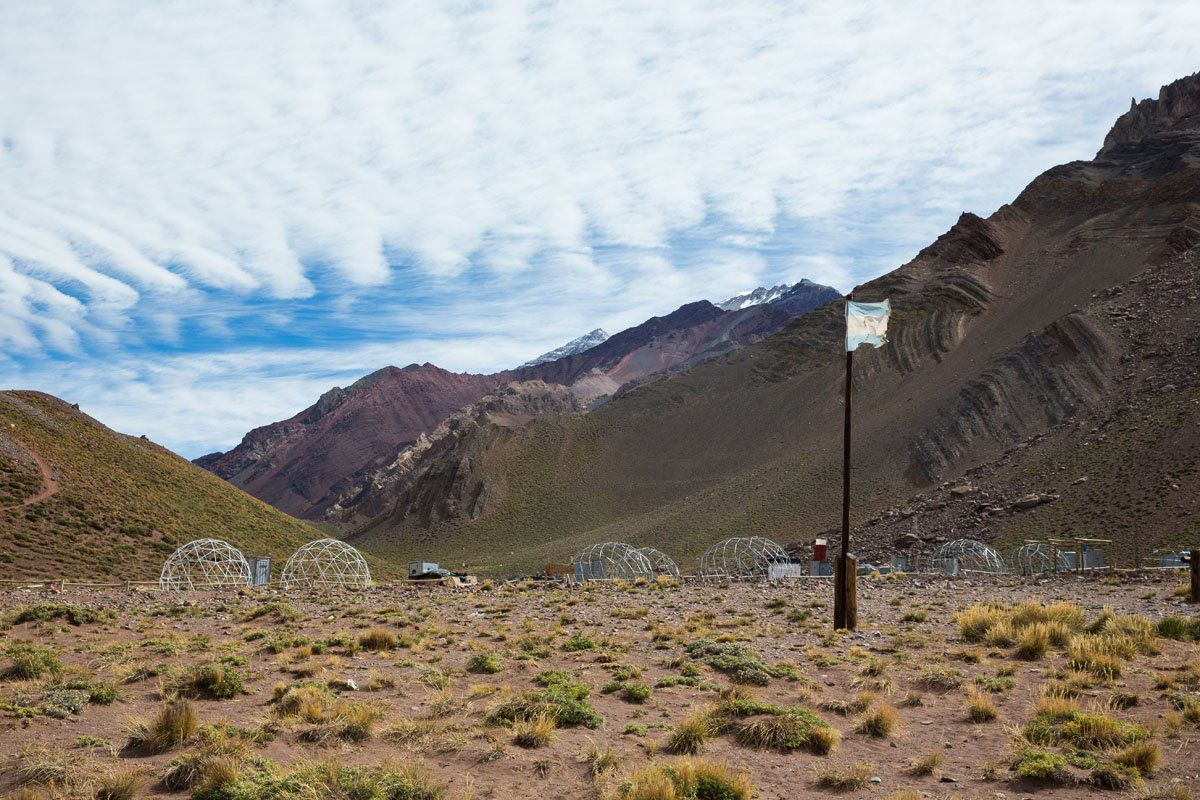 Aconcagua Base Camp Argentina