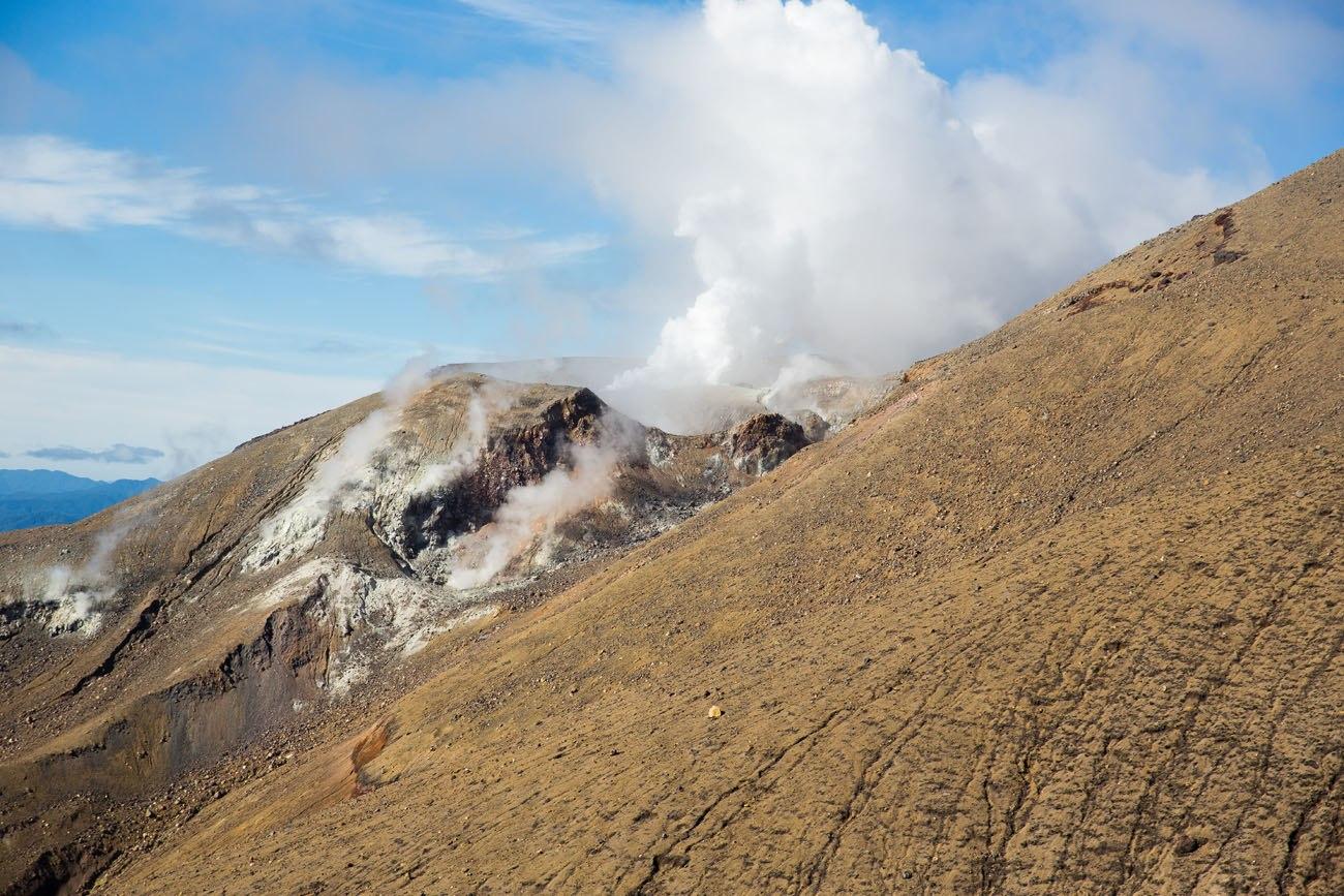 Active Volcano Tongariro