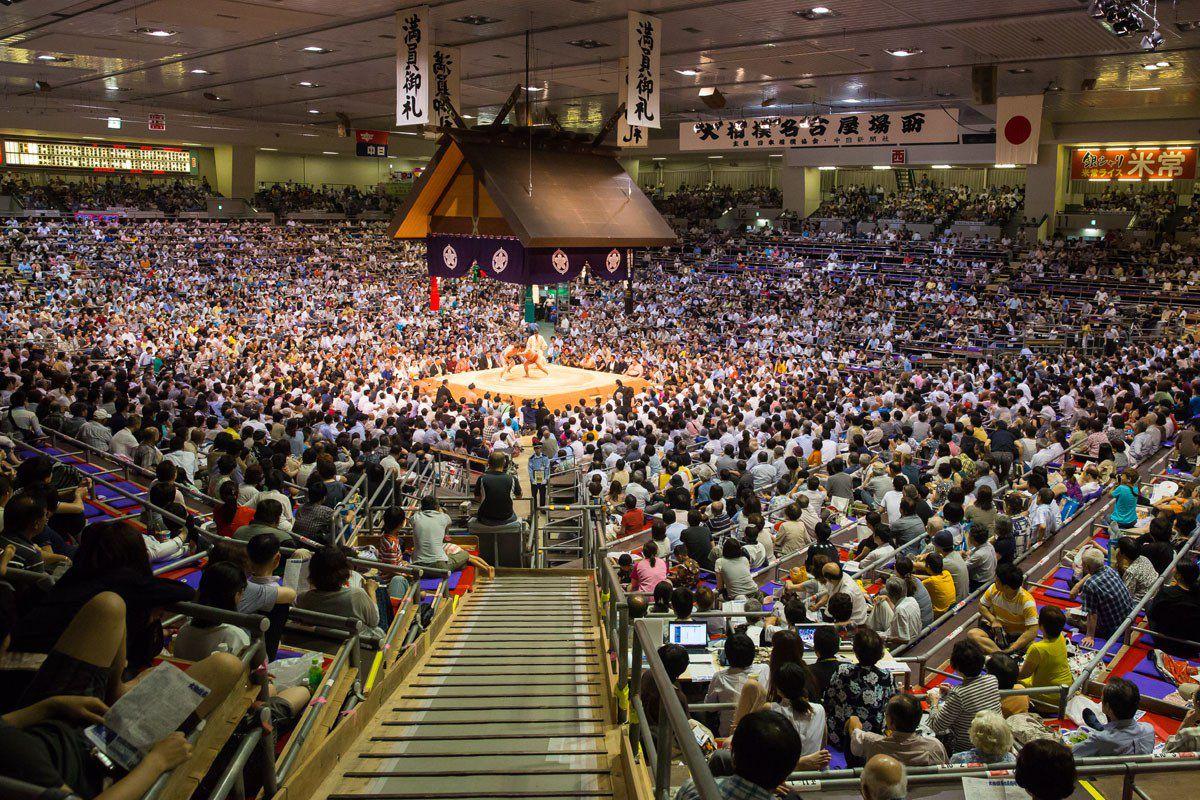 Aichi Prefectural Gymnasium Sumo Wrestling
