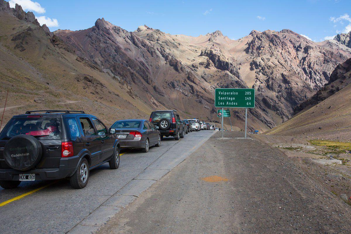 Border Crossing Chile