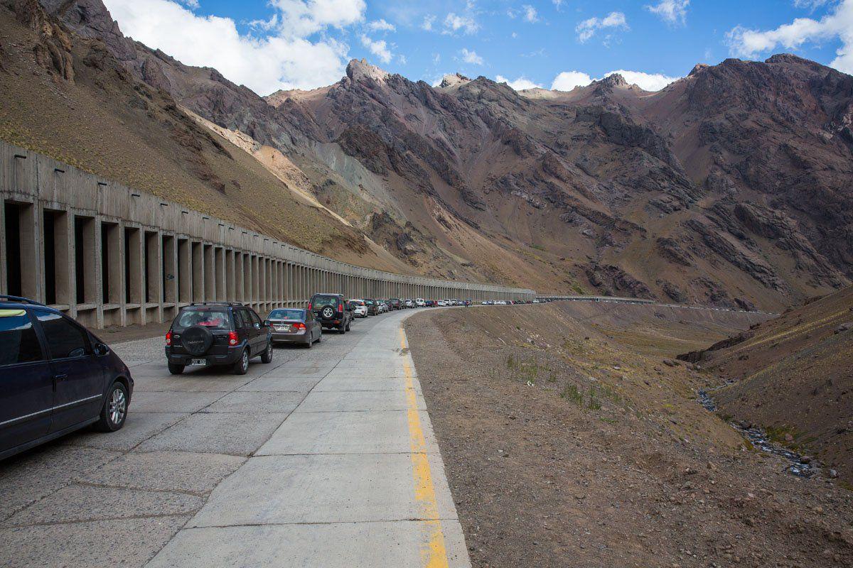 Border Crossing in Chile