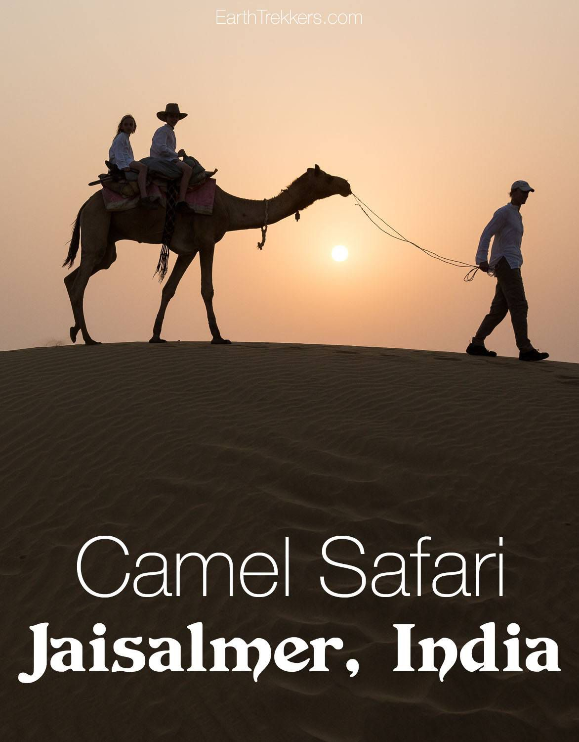 Camel Safari Jaisalmer India