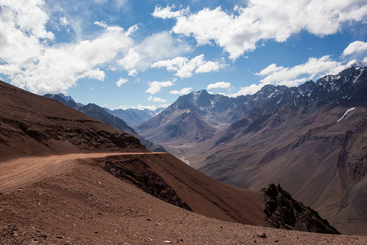 Cristo Redentor de los Andes Road
