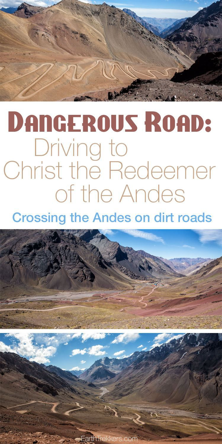 Crossing the Andes on Dirt Roads