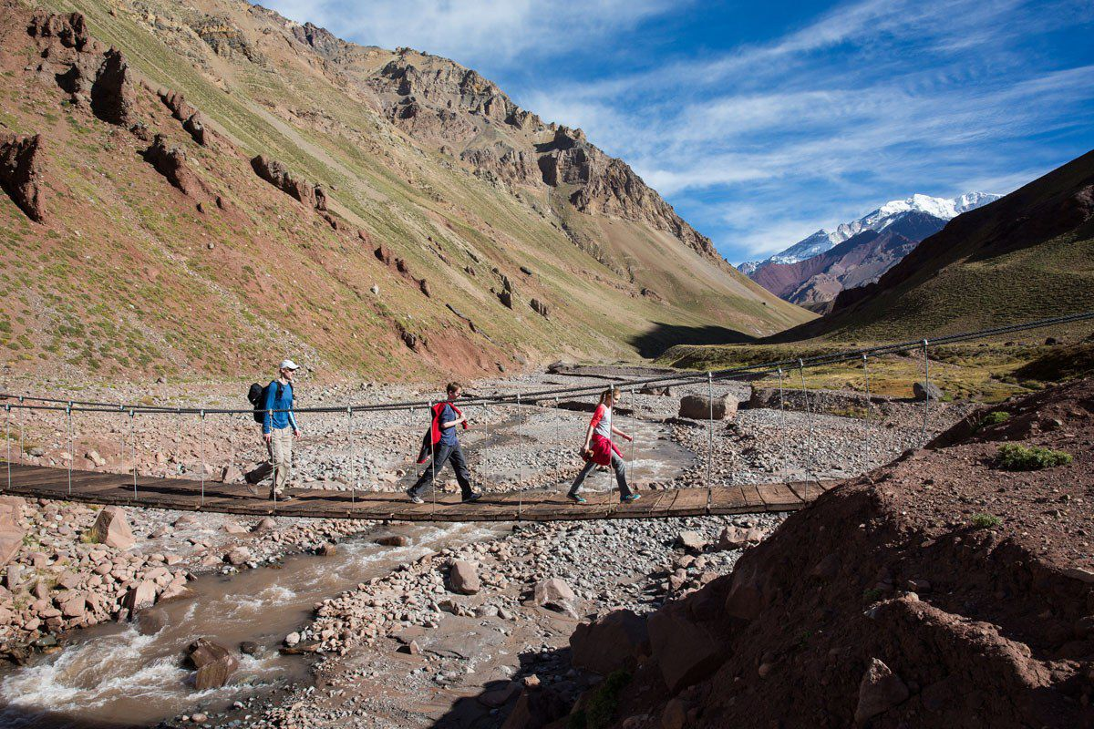 Hiking to Aconcagua with kids