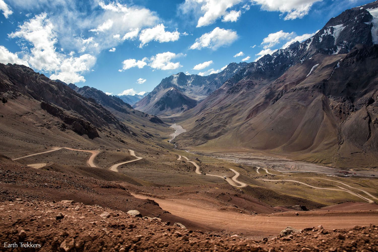 Dirt Road Argentina to Chile