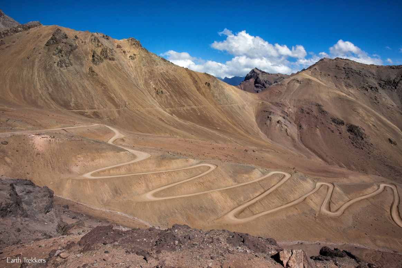 Dirt Road Chile Argentina
