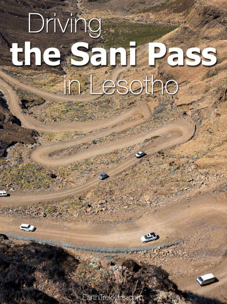 Driving Sani Pass