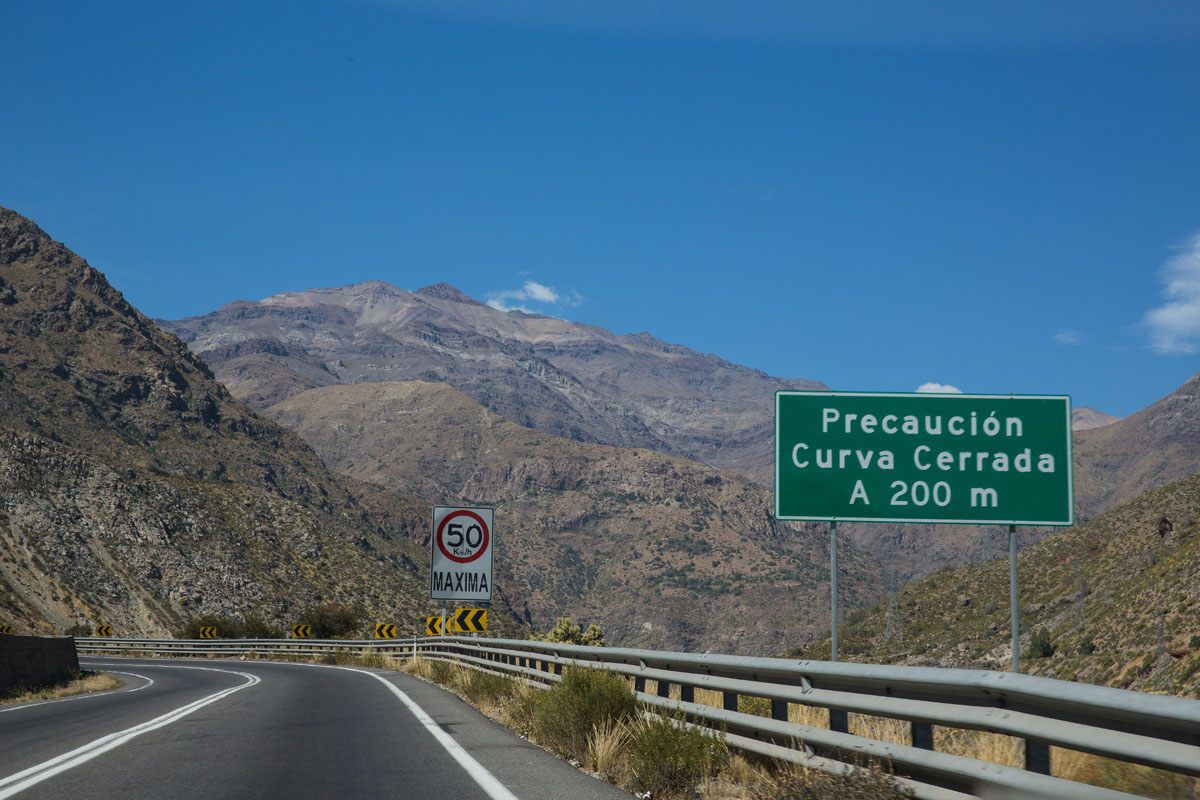 Driving in Chile