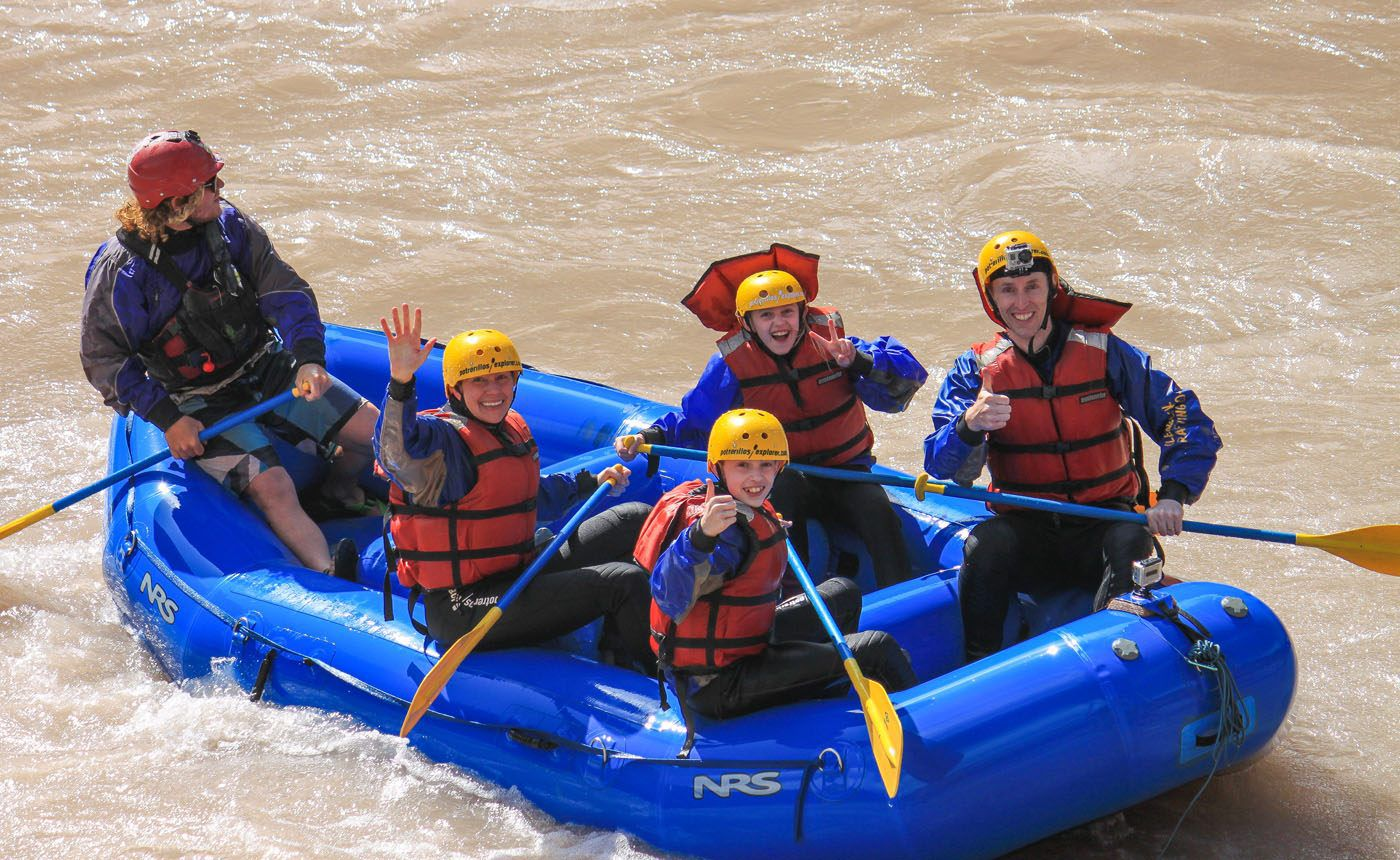 Earth Trekkers White Water Rafting