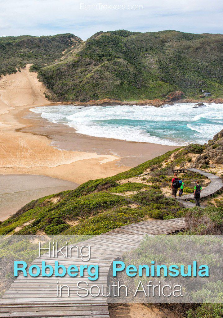 Hiking Robberg Peninsula in South Africa