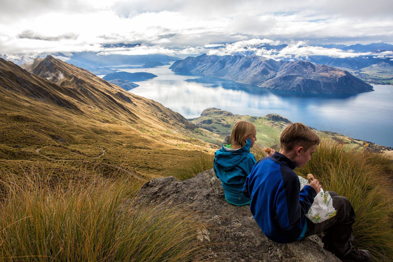 Hiking Roys Peak with Kids