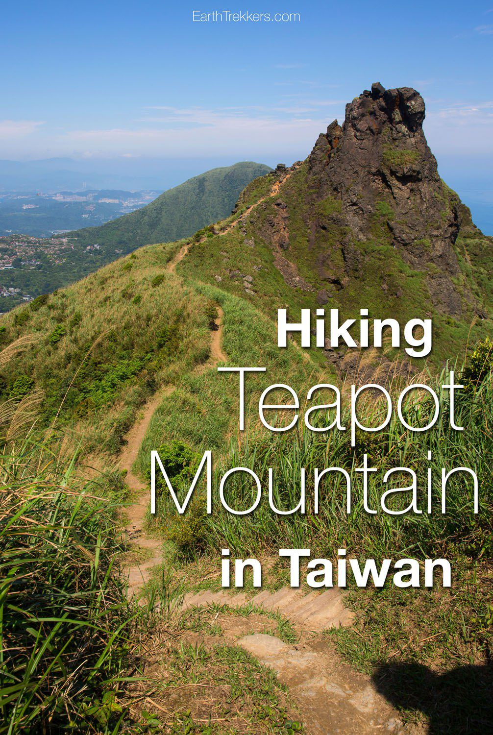 Hiking Teapot Mountain Taiwan
