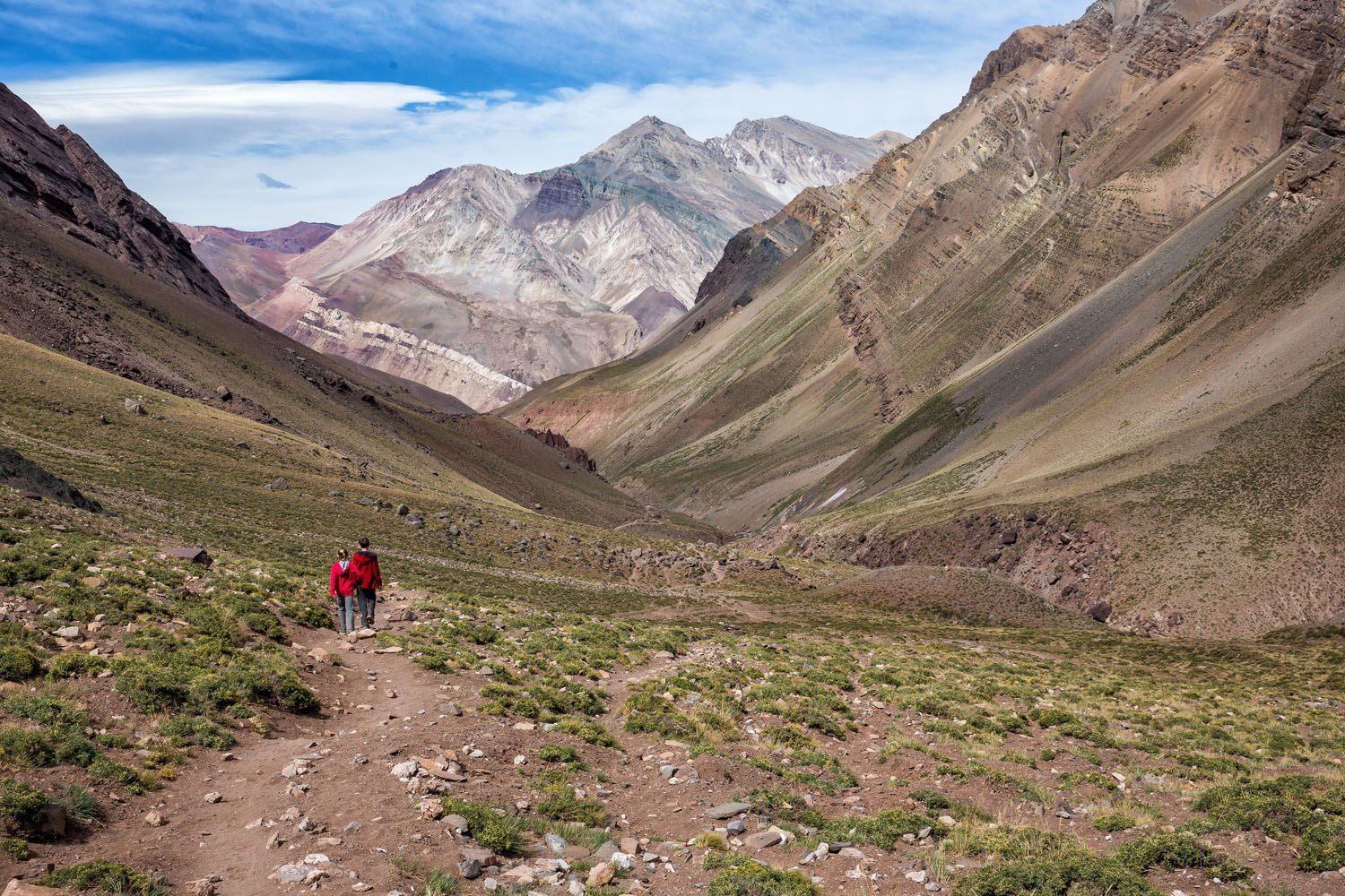 Hiking in Mendoza, Argentina