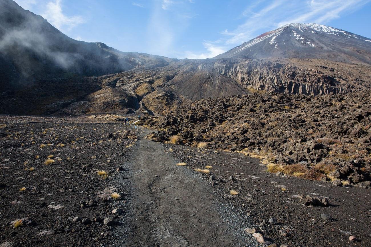 Hiking to Mt Doom