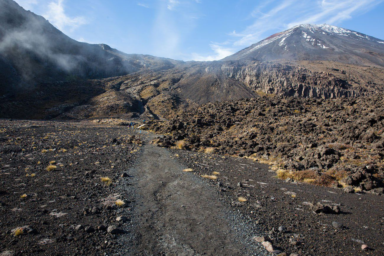 Hiking to Mt Doom