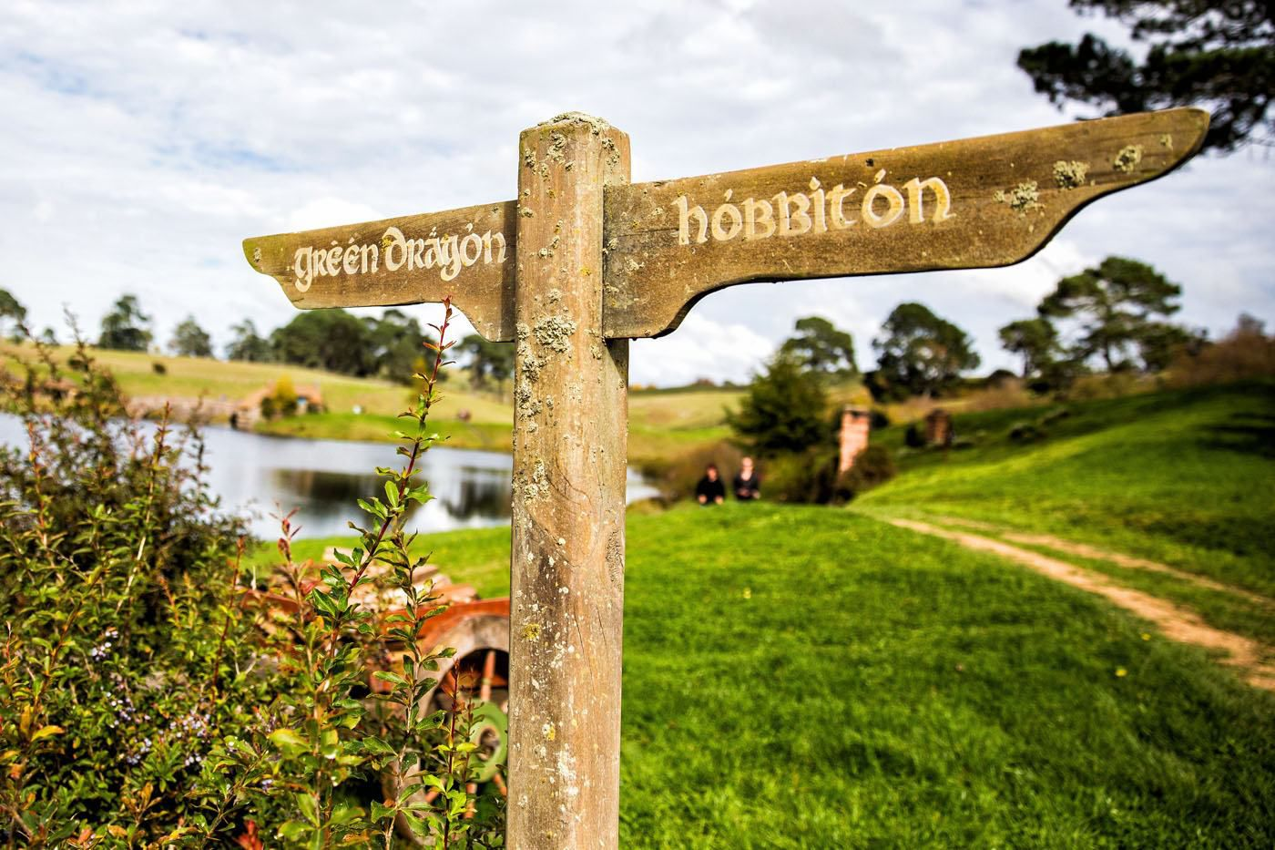 Hobbiton New Zealand Sign