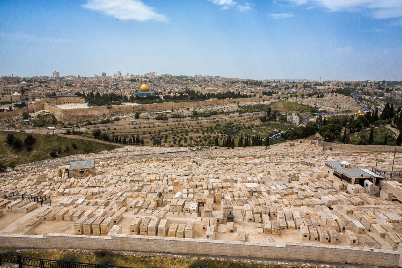 Jerusalem Israel from Mount of Olives