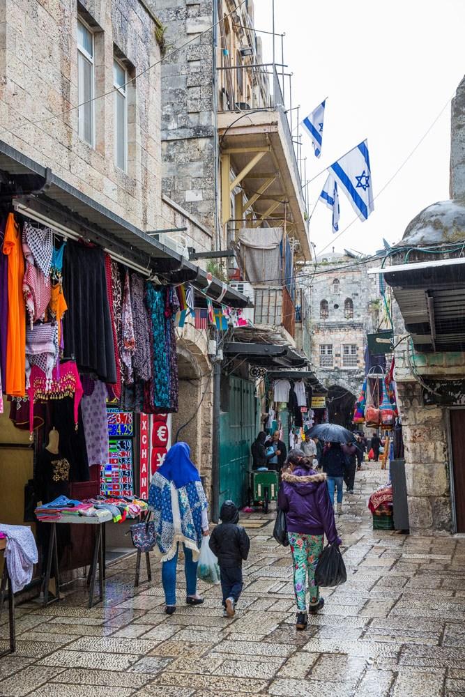 Jerusalem Israel in April
