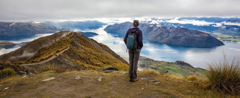 Julie Rivenbark hiking