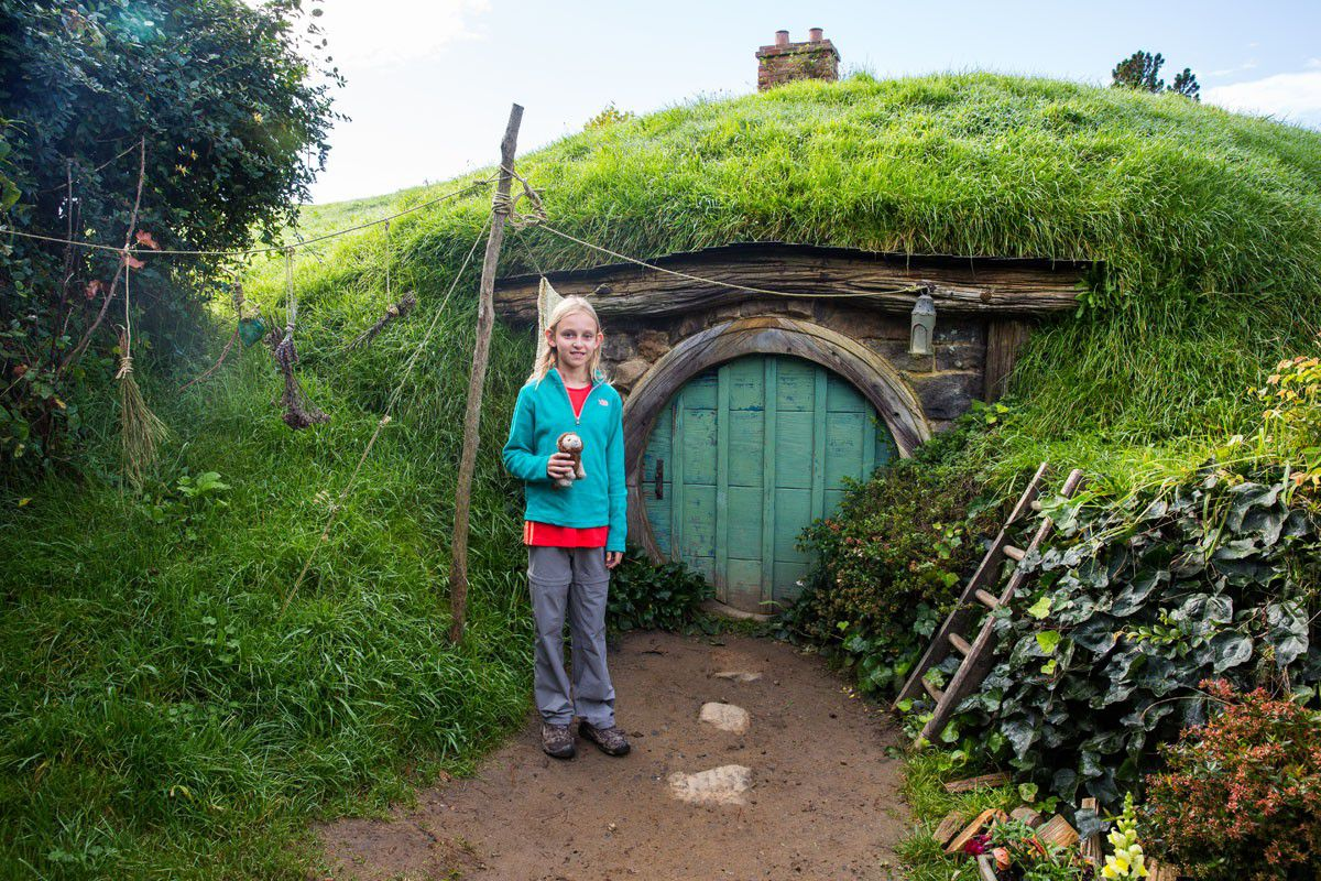 Kara in Hobbiton